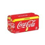 貓奴生活雜貨-可口可樂-檸檬味-Coca-Cola-Lemon-330ml-八罐裝-2123-飲品-寵物用品速遞