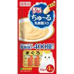 INABA-CIAO-日本CIAO肉泥餐包-乳酸菌-金槍魚肉醬-56g-SC-231-紅-CIAO-INABA-寵物用品速遞