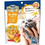 貓小食-日本COMBO-二合一健康貓零食-除口臭及潔齒配方-42g-橙-COMBO-寵物用品速遞