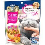 貓小食-日本COMBO-二合一健康貓零食-去毛球配方-42g-桃紅-COMBO-寵物用品速遞