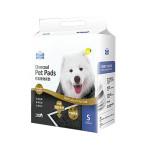 狗尿墊-PETBEST-竹炭檸檬加厚除臭超吸水-寵物尿墊-狗尿墊-狗尿片-33x45-S碼-100枚入-藍-狗狗-寵物用品速遞